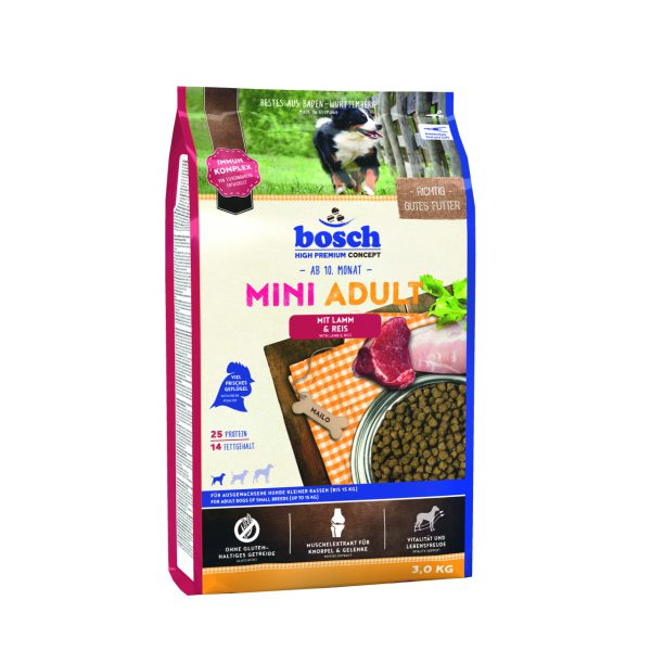 غذای خشک بوش مخصوص سگ های بالغ نژاد کوچک Mini adult