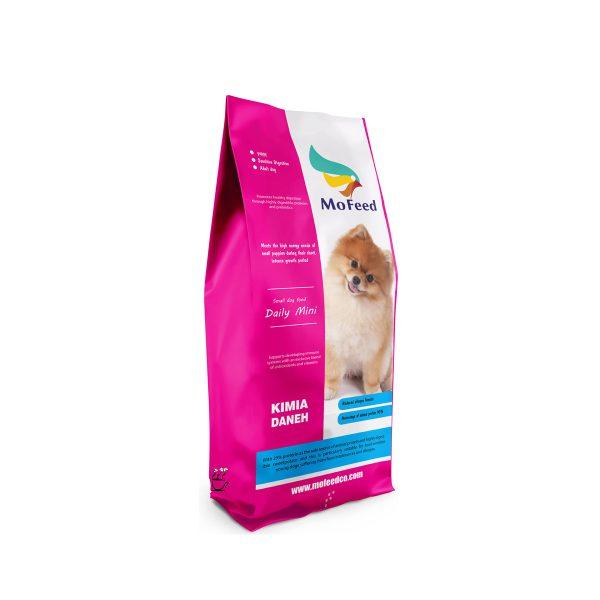 غذای خشک مفید مخصوص سگ های بالغ نژاد کوچک