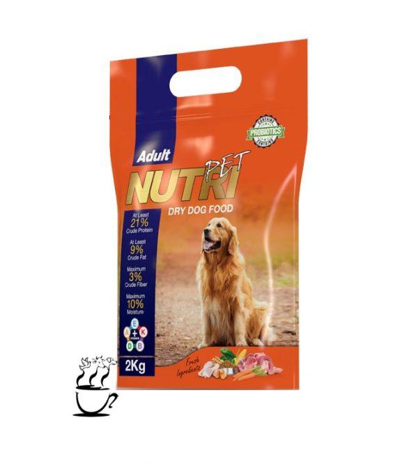 غذای خشک سگ بالغ نوتری 21%