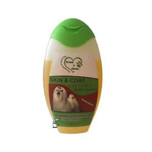شامپوی سگ fresh and clean از بین برنده بو