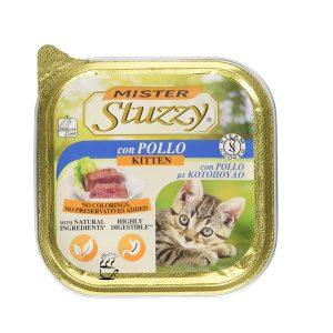 کنسرو بچه گربه استوزی با طعم با طعم مرغ