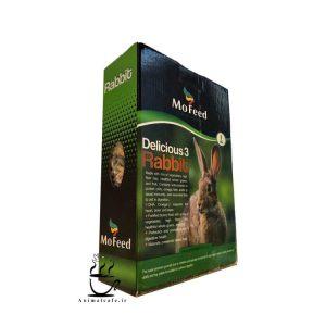 غذای خرگوش برند مفید Mofeed وزن 1 Kg