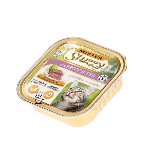 خوراک گربه استوزی با طعم ژامبون