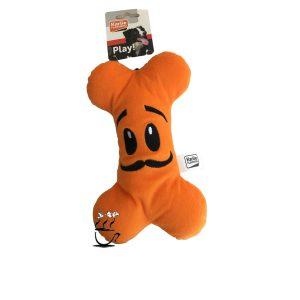اسباب بازی سگ happy bone فلامینگو نارنجی رنگ