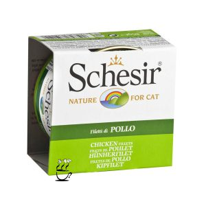 کنسرو شیزر مخصوص گربه بالغ با طعم مرغ
