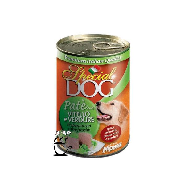 کنسرو مونژه مخصوص سگ با طعم گوساله و سبزیجات