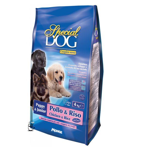غذای خشک مونژه مخصوص توله سگ و سگ های آبستن و شیرده