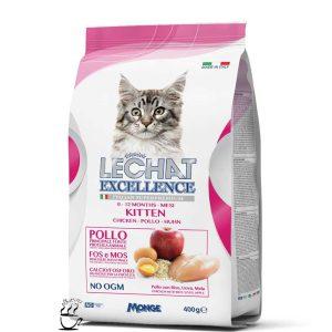 غذای خشک لیچت مخصوص بچه گربه و گربه های باردار و شیرده