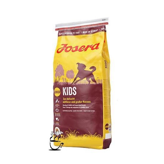 غذاي خشك جوسرا کیدز مخصوص توله سگ نژاد متوسط و بزرگ