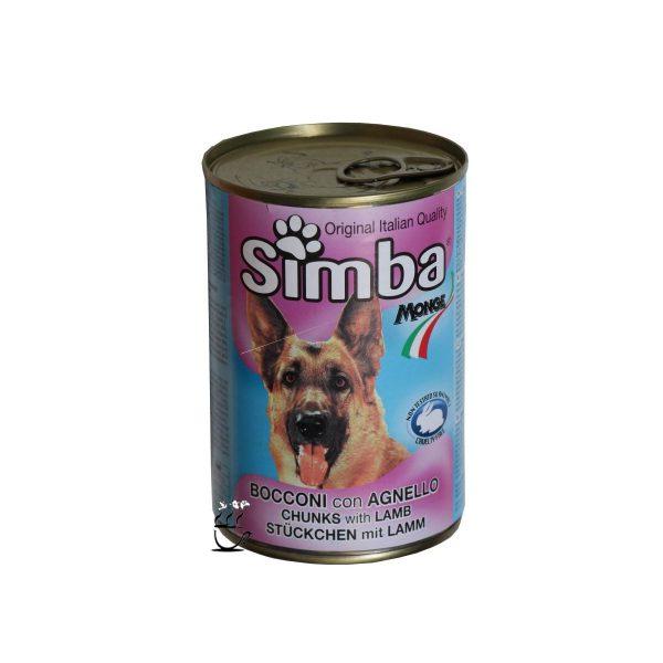 کنسرو سیمبا با طعم بره مخصوص سگ