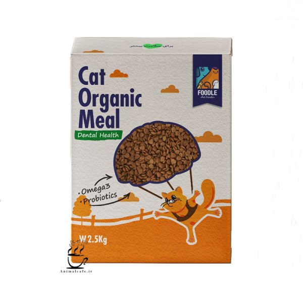 غذای خشک فودل مخصوص گربه های بالغ 2.5 کیلوگرم