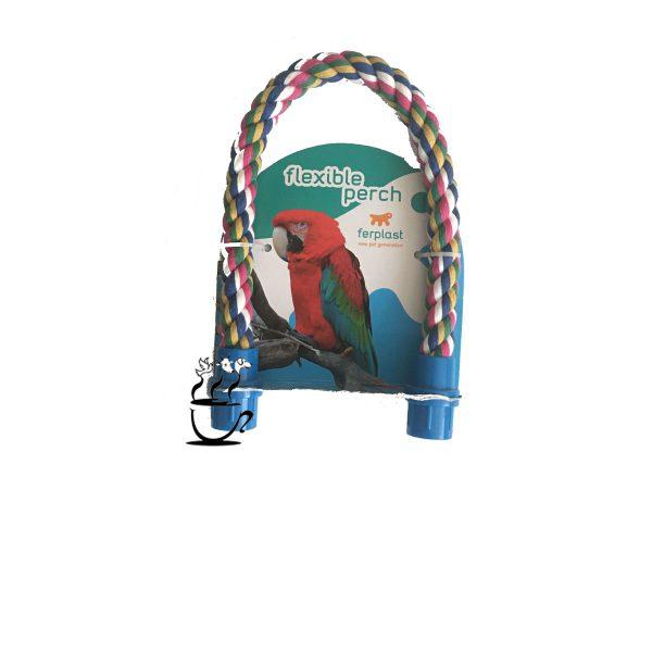 طناب نشستن پرنده قابل انعطاف سایز S