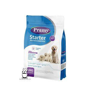 غذای خشک پرامی Pramy مخصوص توله سگ و سگ شیرده 1.5 Kg