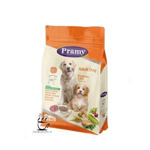 غذای خشک پرامی Mini adult مخصوص سگ بالغ نژاد کوچک 1.5kg
