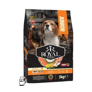 غذای خشگ Royalfeed مخصوص سگهای جوان