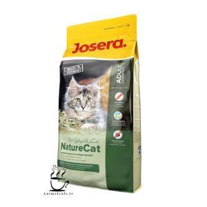 غذای خشک جوسرا Josera مدل NatureCat مخصوص گربه بالغ و بچه گربه بالای 6 ماه 2 Kg